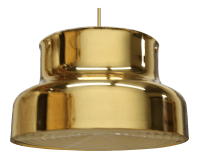 Bumling Brass Ceiling Pendant | Chairish