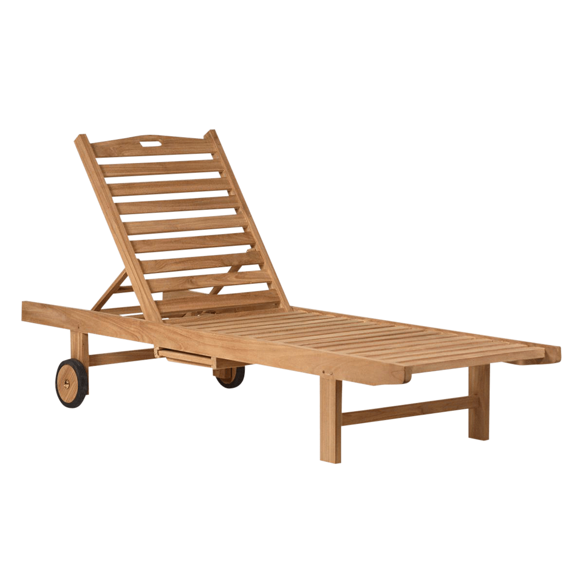 Reclining Lounge Chair Teak Outdoor Reclining Lounge Chair Chairish