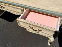 Italian Designer Writing Table Desk | Chairish