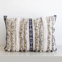Moroccan Handira Wedding Blanket Pillow V   Chairish