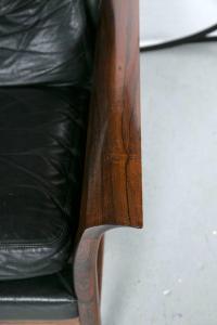 Danish Mid-Century Modern Lounge Chair And Ottoman | Chairish