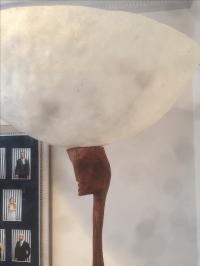 African Floor Lamp | Chairish