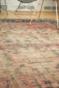 Antique Yazd Carpet - 8' x 10' | Chairish