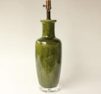 Italian Ceramic Table Lamp | Chairish