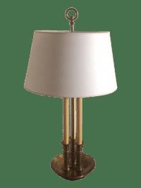 Vintage Bouillotte Table Lamp | Chairish