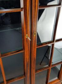 Torbjrn Afdal Rosewood Lighted Curio Cabinet | Chairish
