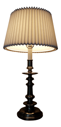Stiffel Table Lamp with Shade | Chairish
