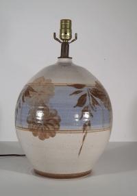 Vintage California Pottery Table Lamp | Chairish