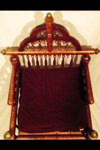 Antique Punjab Wedding Chair | Chairish