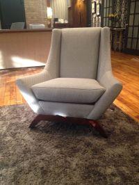 Mid-Century Style Precedent Club Chair | Chairish