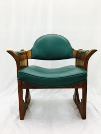 Vintage Mid Century Party Chair by Stanley | Chairish