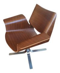 Mid-Century Modern Butterfly Chair | Chairish