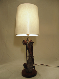 Custom Roller Skate Table Lamps - A Pair | Chairish