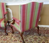 Martha Washington Mahogany Chippendale Style Southwood ...