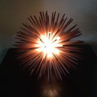 Sea Urchin Lamp | Chairish