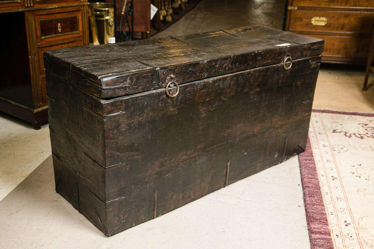 Chinese Trunk Blanket Chest Chairish
