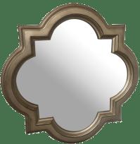 Quatrefoil Mirror | Chairish