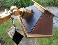Alexander-John Brass Adjustable Clamps Floor Lamp | Chairish