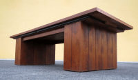 Mid-Century Expanding Coffee Table | Chairish