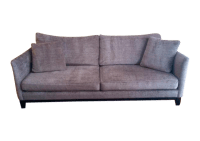 Dania Roderick Charcoal Gray Sofa   Chairish