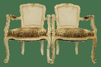 Louis XVI Fauteuil Leopard Print Chairs - A Pair | Chairish