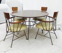 Iconic Paul McCobb Dining Chair Set & Table | Chairish