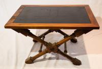 Nautical Blueprint Etched Slate Coffee Table   Chairish