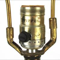 Vintage 1970s Stiffel Brass Lamps - A Pair | Chairish