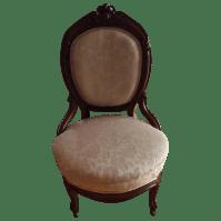 Antique Victorian Lady Chair | Chairish