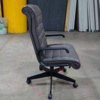 Knoll Sapper High Back Taupe Office Chair | Chairish