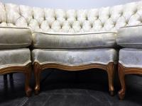 Vintage 1960's French Provincial Sectional Sofa | Chairish