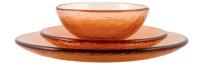 Fire & Light Copper Dinner Plate | Chairish