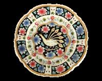Hand Painted Decorative Italian Plate | Chairish