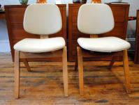 Mid-Century Thonet Chairs by Joe Atkinson - a Pair | Chairish