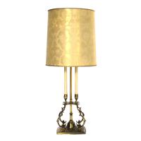 Vintage 1970s Stiffel Brass Lamp | Chairish