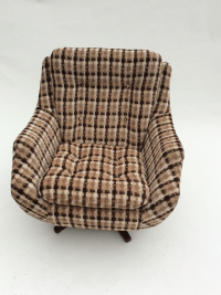 Parker Knoll Swivel Chair | Chairish