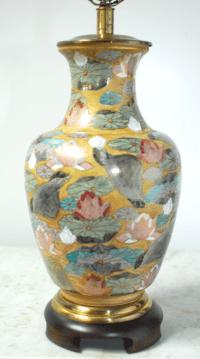 Frederick Cooper Porcelain Ginger Jar Table Lamp