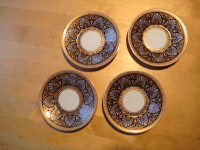 Japanese Decorative Plates - Set of 4 | Chairish