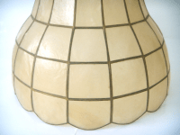 Vintage Capiz Shell Lamp Shade | Chairish
