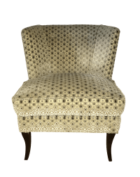 Vintage Tommi Parzinger Upholstered Chair | Chairish