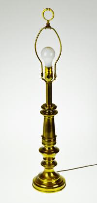 Vintage Stiffel Brass Table Lamp | Chairish