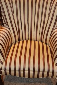 Antique Channel Back Chair Reupholstered | Chairish