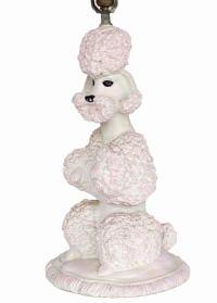Phyllis Morris Sculptural Poodle Table Lamp   Chairish