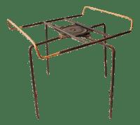 Mid Century Modern Lazy Susan Revolving Table Base | Chairish