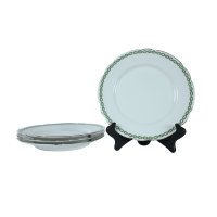 French Limoges Dinner Plates - Set of 4 | Chairish