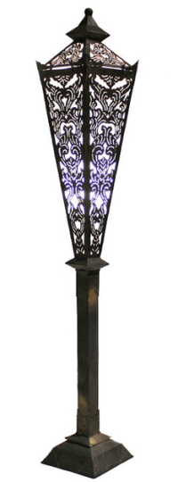 Vintage & Used Boho Chic Floor Lamps | Chairish