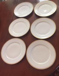 Antique Limoges France Dinner Plates - Set of 6 | Chairish