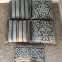 Restoration Hardware Throw Pillows - Set of 5   Chairish
