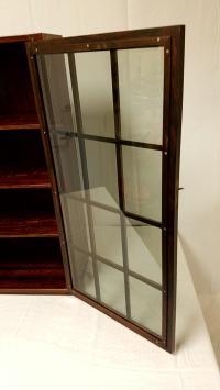 Mid-Century Rosewood Curio Cabinet | Chairish