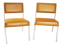 Mid-Century Modern Steelcase Aluminum Office Chairs - A ...